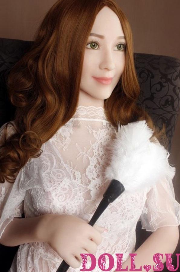 Секс-кукла с Голосом и Подогревом Арлет 160 см TPE-Силикон - 4