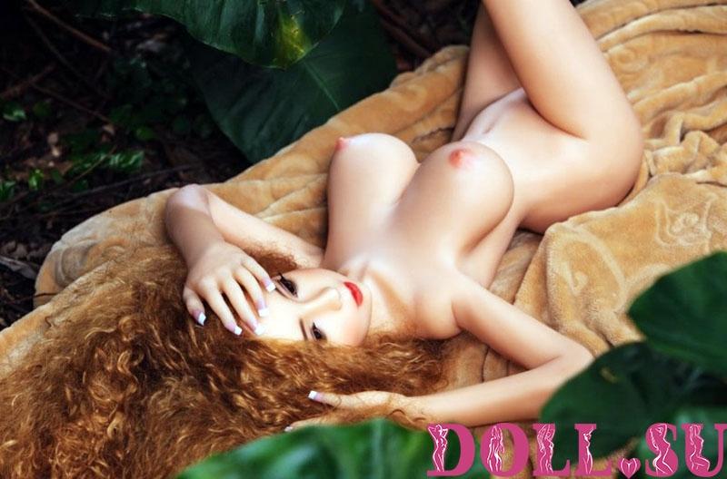 Секс-кукла с Голосом и Подогревом Виктория 118 см TPE-Силикон - 10