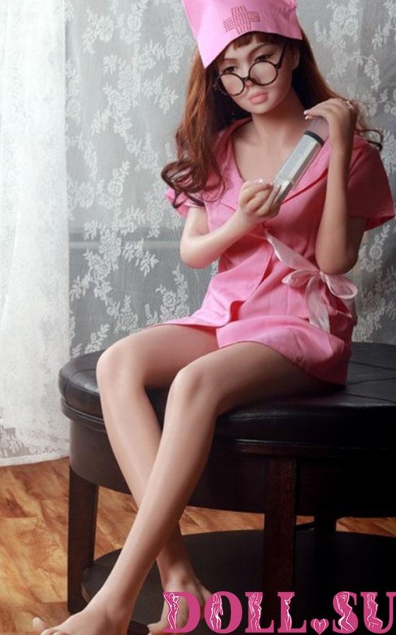 Секс-кукла с Голосом и Подогревом Джаннет 160 см TPE-Силикон - 1