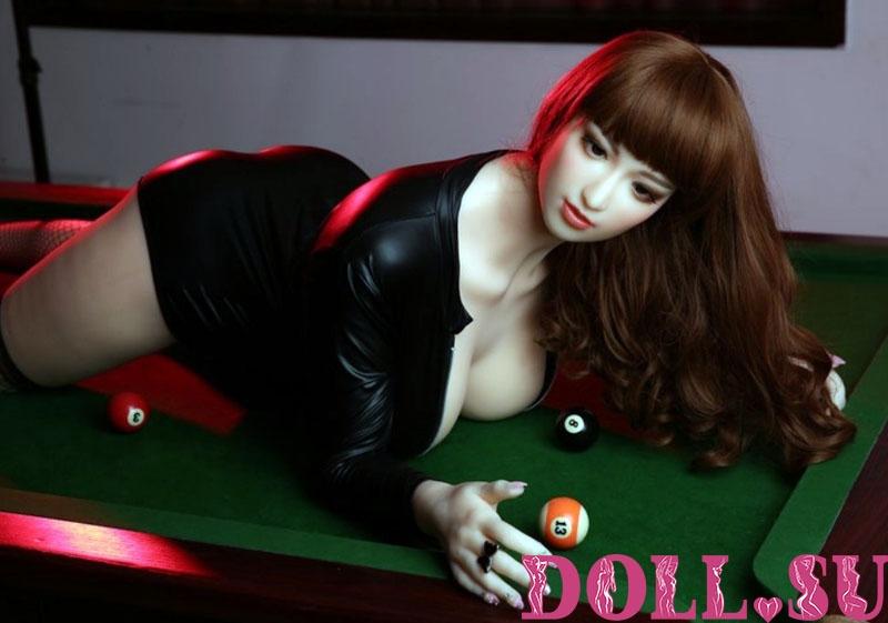 Секс-кукла с Голосом и Подогревом Арли 170 см TPE-Силикон - 5