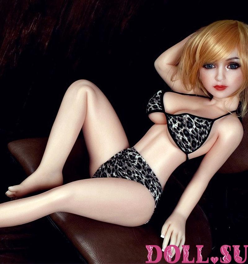 Секс-кукла с Голосом и Подогревом Этерия 111 см TPE-Силикон - 14