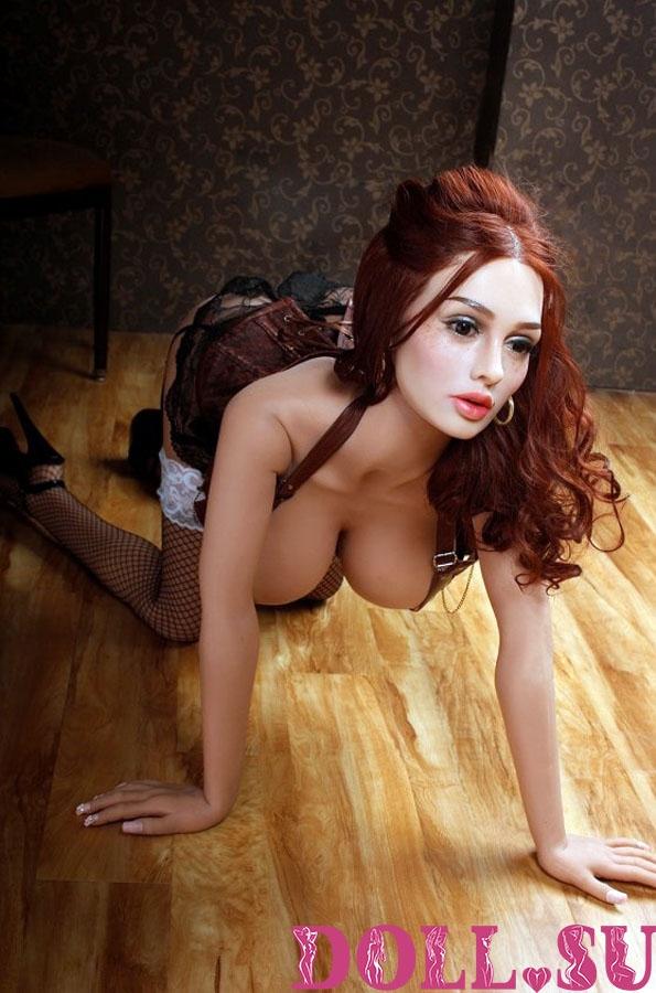 Секс-кукла с Голосом и Подогревом Аэлина 151 см TPE-Силикон - 10