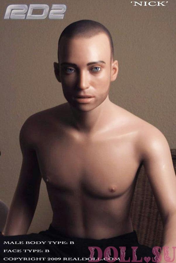Секс кукла мужчина Real Doll Nick1 177 см - 1