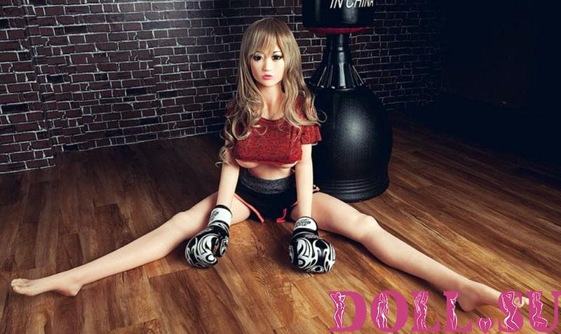 Секс-кукла с Голосом и Подогревом Стилара 145 см TPE-Силикон - 8