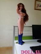 Мини секс кукла Агнесса 68 см - 1