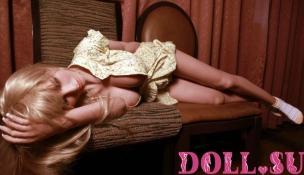 Секс-кукла с Голосом и Подогревом Аливера 145 см TPE-Силикон - 2