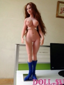 Мини секс кукла Агнесса 68 см - 4