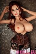 Секс-кукла с Голосом и Подогревом Аэлина 151 см TPE-Силикон - 13