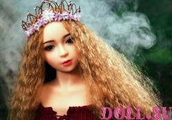 Секс-кукла с Голосом и Подогревом Виктория 118 см TPE-Силикон - 4