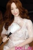 Секс-кукла с Голосом и Подогревом Арлет 160 см TPE-Силикон - 2