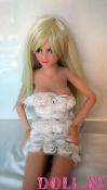 Мини секс кукла Кира 80 см - 3