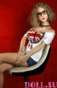 Секс-кукла с Голосом и Подогревом Калерия 156 см TPE-Силикон - 2