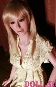 Секс-кукла с Голосом и Подогревом Аливера 145 см TPE-Силикон - 1