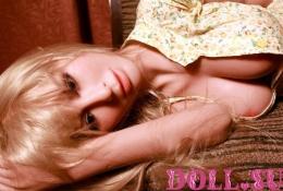 Секс-кукла с Голосом и Подогревом Аливера 145 см TPE-Силикон - 7