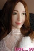 Секс-кукла с Голосом и Подогревом Арлет 160 см TPE-Силикон - 5