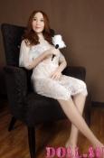 Секс-кукла с Голосом и Подогревом Арлет 160 см TPE-Силикон - 7