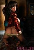 Секс кукла Кассандра 135 см - 11
